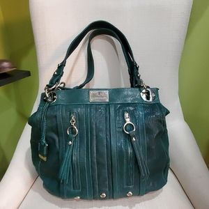 Frye Emerald Green Leather Limited Tote